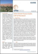 COVER CFAS Climate Finance Guide 2016